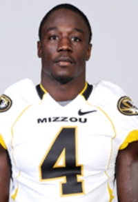 Hardy Ricks made first team all-state in two positions, then became a starting safety for Mizzou. (Photo courtesy of the University of Missouri)