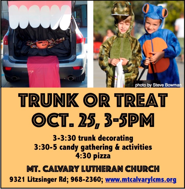 Trunk or Treat Full Page