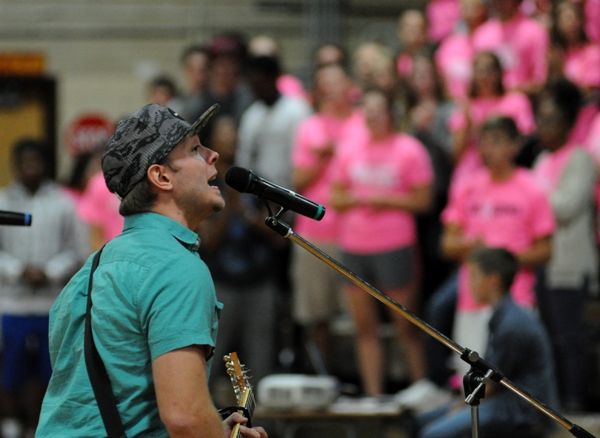 Justin Madden of the SOS Band.