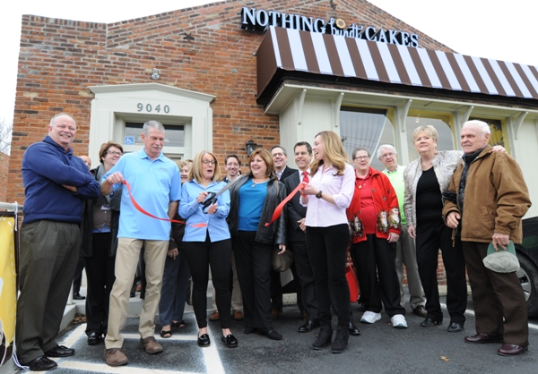 Nothing Bundt Cakes is at 8740 Manchester Rd., across from Carl's Drive-In and next door to The White Rabbit.
