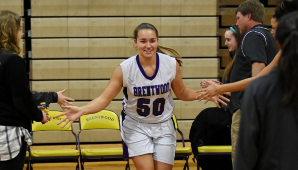 Sophia Rivera is introduced before the Bayless game.