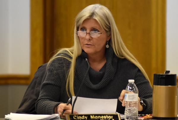 Alderwoman Cindy Manestar.