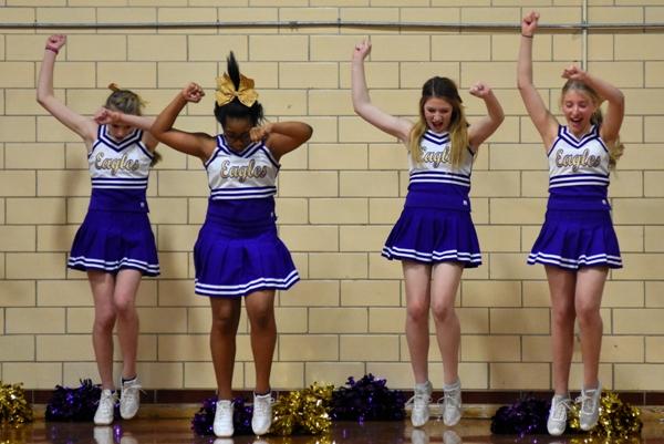 SJB_3390 Cheerleaders