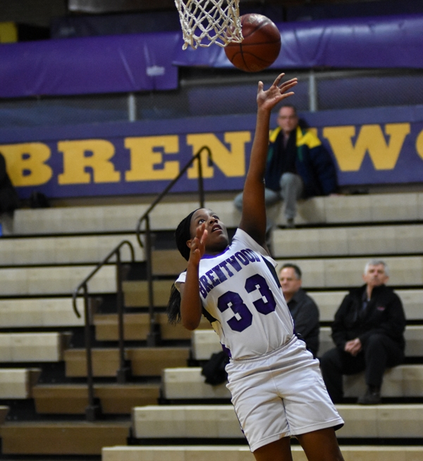 Marshelle Franklin scores uncontested after a steal.