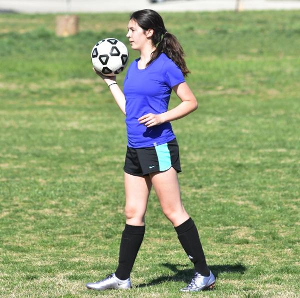 Sophomore inside midfielder Amanda Ingersoll.