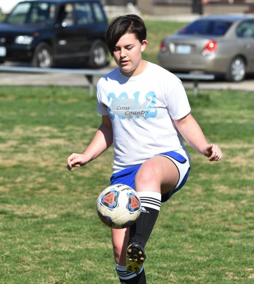 Freshman defender Meghan Haug.