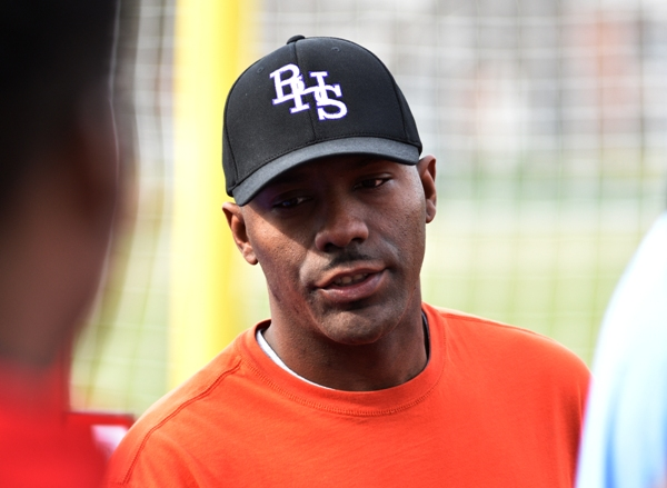 Assistant track coach Robert Findley.