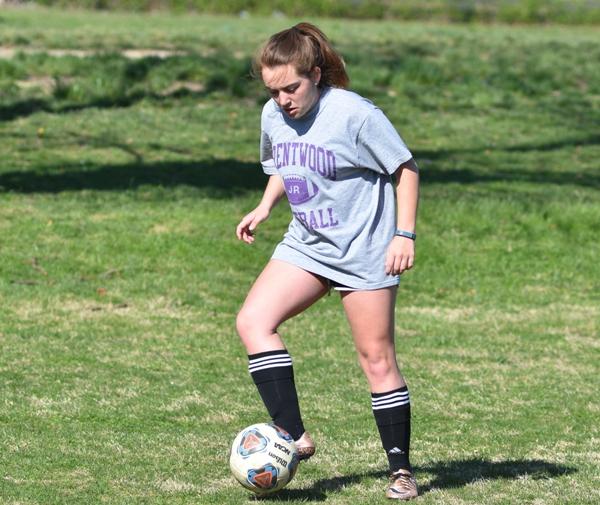 Senior forward Abby Harper.