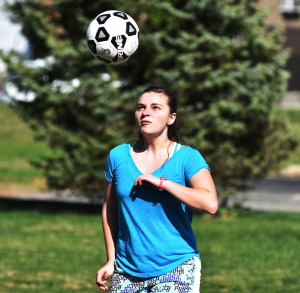 Sophomore Emma Stoverink.