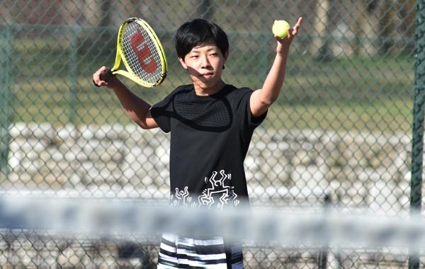 Sophomore Mahoto Sasaki.