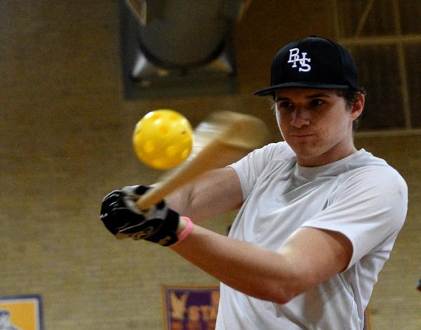 Junior pitcher and infielder Skylar Sappington.