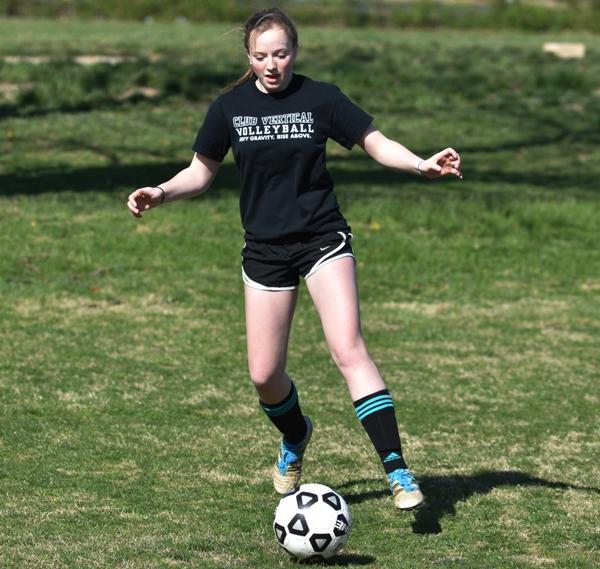 Senior defender Torri Brotherton.