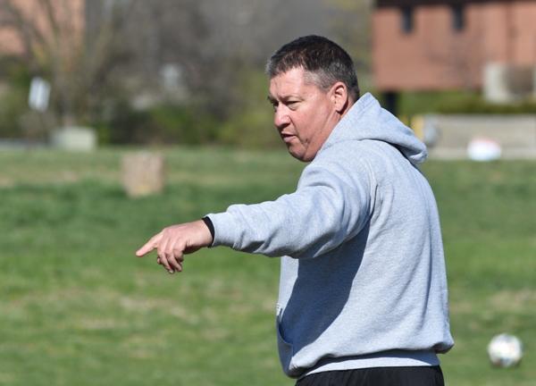 Assistant coach Rob Doebber.