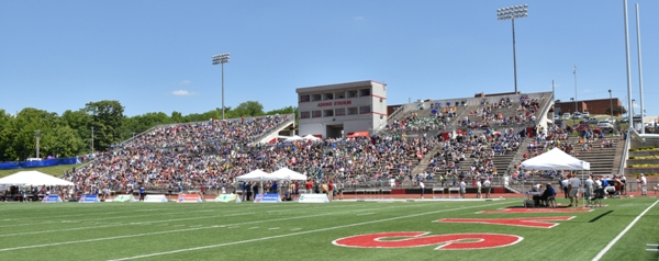 Jefferson City High School's Johnson Stadium on Saturday.