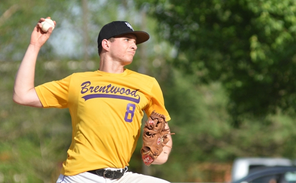 Skylar Sappington pitches in the fifth inning.